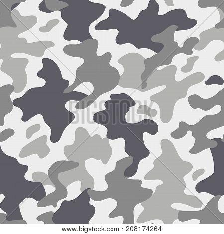 Modern fashion trendy camo pattern, vector illustration