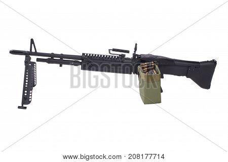 M60 Machine Gun With Amminition Tape