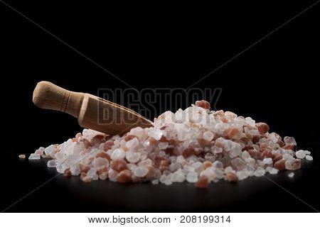 Spice Spoon On Salt