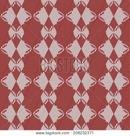 Geometric seamless pattern with rhombus. Abstract Seamless Pattern.