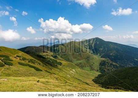 Mala Fatra is a mountain range in northern Slovakia in the Zilina Region. After High Tatras, Low Tatras and Orava Beskydy is the fourth highest mountain in Slovakia