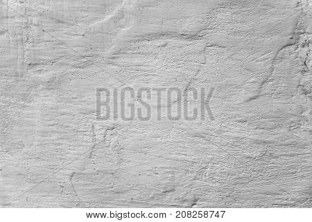 Wall Whitewashed By Lime, Color, Textured Background. Ukraine