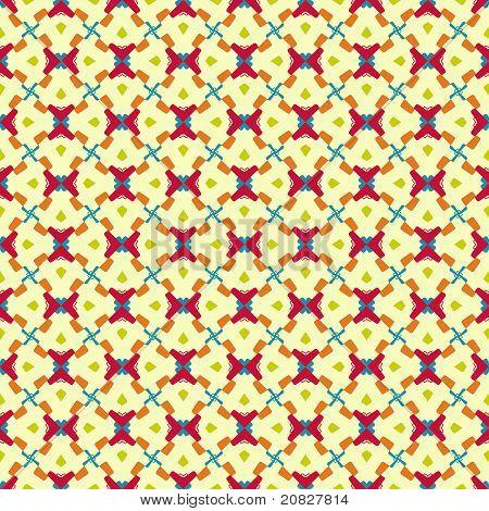 Seamless Colorful Geometric Design