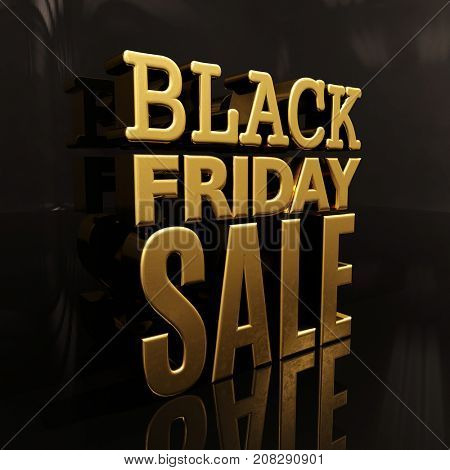 Black Friday Sale Gold Inscription Design Template, Black Friday Sale Banner,  Discount Sign,  November Special Offer, Budget-Friendly, Cost-Cutting, Low-Cost, Low-Priced, Black Friday Sale Background