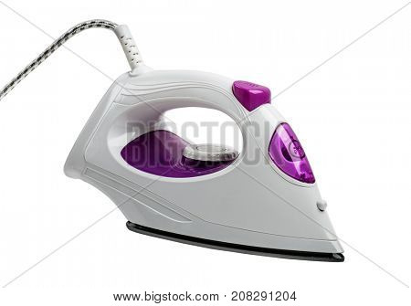 New iron isolated on a white background