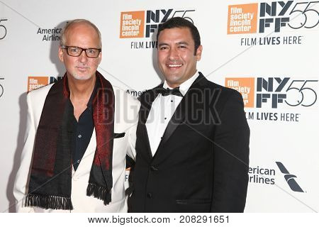 NEW YORK-OCT 07: Actors Larry Cech (L) and Raul Torres attend the