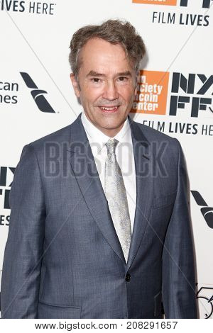 NEW YORK-OCT 07: Composer Carter Burwell attends the