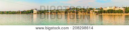 Cityscape of the Votkinsk. Birthplace of Pyotr Ilyich Tchaikovsky. Udmurt Republic, Russia.