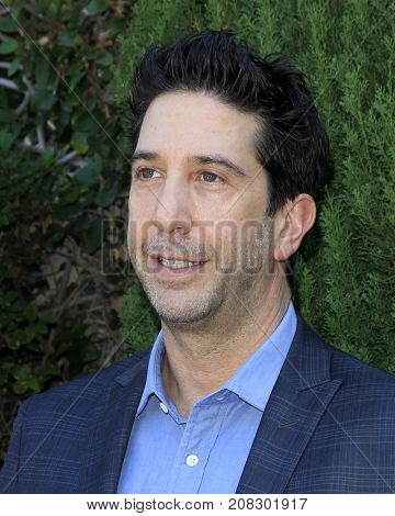 LOS ANGELES - OCT 8:  David Schwrimmer at the The Rape Foundation's Annual Brunch at the Private Residence on October 8, 2017 in Beverly Hills, CA