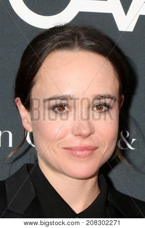 LOS ANGELES - OCT 7:  Ellen Page at the 2017 Los Angeles Dance Project Gala at the LA Dance Project on October 7, 2017 in Los Angeles, CA