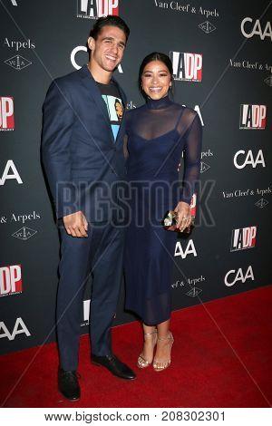 LOS ANGELES - OCT 7:  Joe LoCicero, Gina Rodriguez at the 2017 Los Angeles Dance Project Gala at the LA Dance Project on October 7, 2017 in Los Angeles, CA