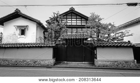Traditional House In Kyoto, Japan