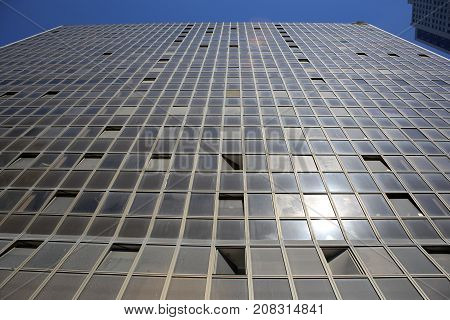 high-rise buildings in the big city of Tel Aviv