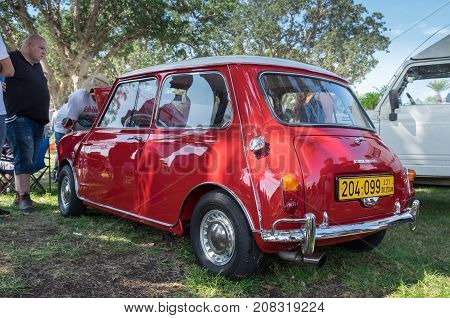 Morris Mini-minor 850  (1960)  Presented On Annual Oldtimer Car Show, Israel