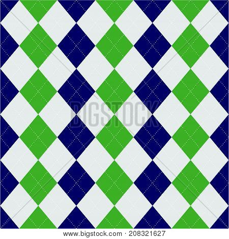Rhombuses seamless pattern. Geometric background or texture.
