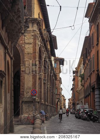 View Of Bologna Old City Centre