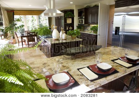 Kitchen Counter And Island