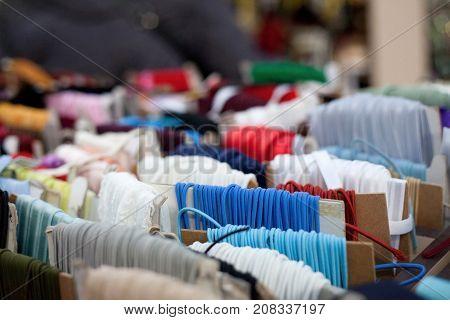 Colorful Textile Elastics
