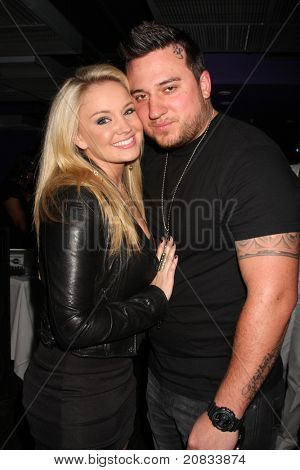 LOS ANGELES - JUN 4:  Tiffany Thornton, Chris Carney at the Darnell Appling Birthday Celebration hosted by Camille Winbush and Francia Raisa at Cafe Entourage on June 4, 2011 in Los Angeles, CA