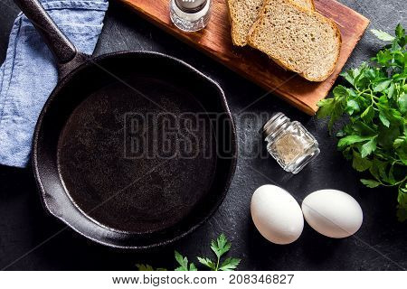 Frying Pan And Eggs