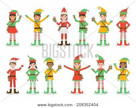 Christmas Kid Elves