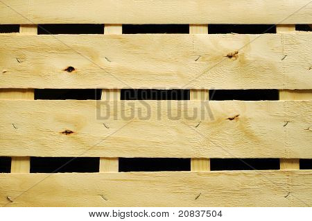 Wooden grid cover