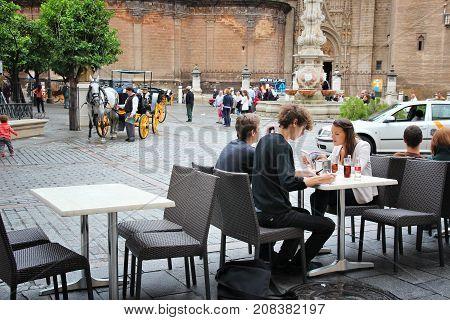 Cafe In Spain