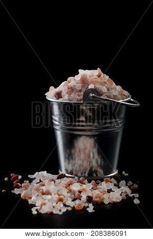 Salt In Bucket