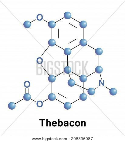 Thebacon or dihydrocodeinone enol acetate is a semisynthetic opioid that is similar to hydrocodone and is most commonly synthesised from thebaine