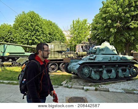 Visit at the Military Museum in Bucharest, Romania