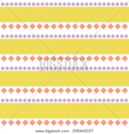 Seamless tribal ethno geometrical pattern on white background