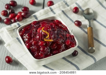 Sweet Homemade Cranberry Sauce