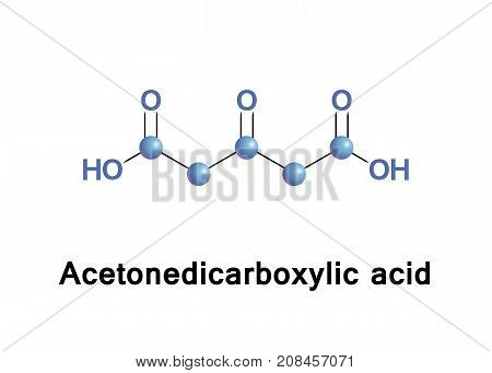 Acetonedicarboxylic acid 3-oxoglutaric acid or beta-ketoglutaric acid is a simple dicarboxylic acid.