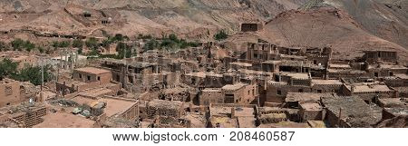 Tuyoq or Tuyugou or Tuyuk is an ancient oasis-village in the Taklamakan desert, 70 km east of Turpan in a lush valley cutting into the Flaming Mountains, Xinjiang Uighur Autonomous Region of China.