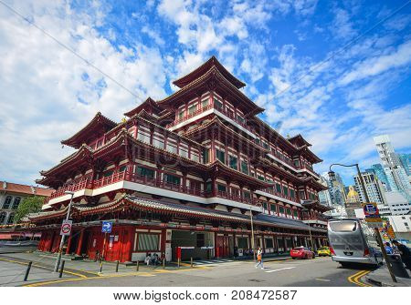 Tooth Relic Temple In Singapore