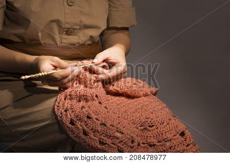 Creating Of Handcraft Clothing.