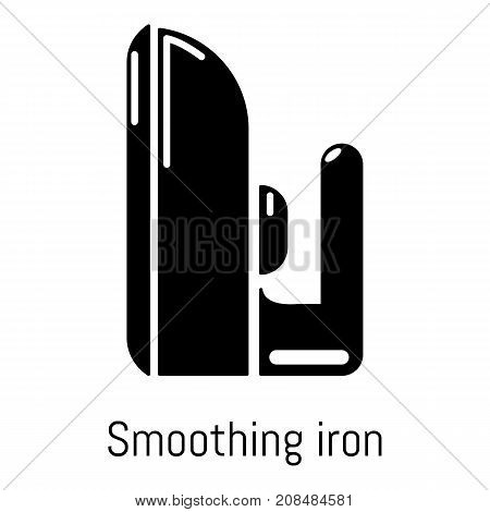 Iron icon. Simple illustration of iron vector icon for web