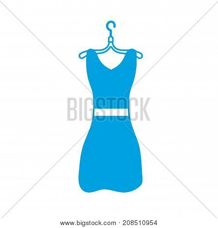 silhouette woman dress casual design style vector illustration