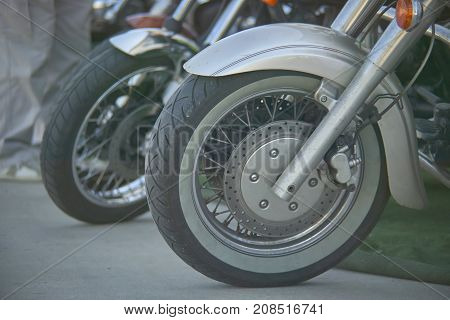 Wheel Of The Motorcycle
