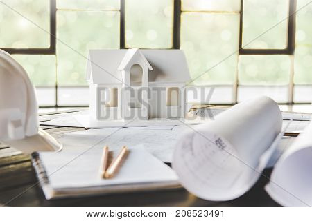 House Model And Architecture Equipment
