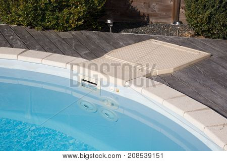 The Pool Filtration System For Clean And Warm Water