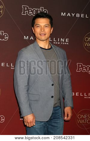 LOS ANGELES - OCT 4:  Vincent Rodriguez III at the People's Ones To Watch Party at the NeueHouse Hollywood on October 4, 2017 in Los Angeles, CA