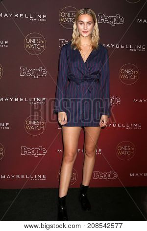 LOS ANGELES - OCT 4:  Suede Brooks at the People's Ones To Watch Party at the NeueHouse Hollywood on October 4, 2017 in Los Angeles, CA