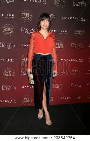 LOS ANGELES - OCT 4:  Natalie Morales at the People's Ones To Watch Party at the NeueHouse Hollywood on October 4, 2017 in Los Angeles, CA