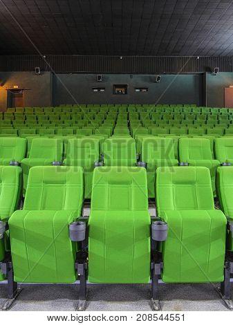 Interior of a cinema auditorium