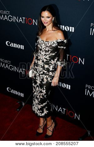 NEW YORK- OCT 24: Designer Georgina Chapman attends the premiere of Canon's 'Project Imaginat10n' Film Festival at Alice Tully Hall at Lincoln Center on October 24, 2013 in New York City.