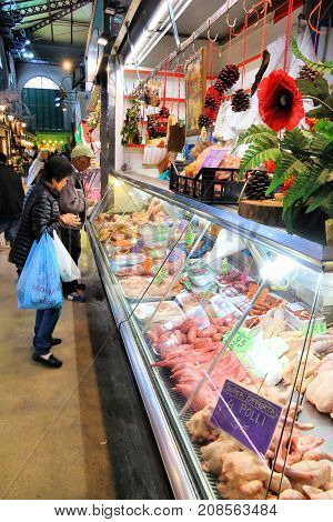 Italy Meat Shop