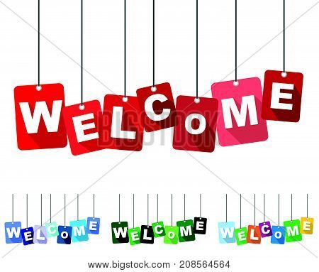 welcome sign welcome deisng welcome illustration welcome banner welcome element welcome eps10 welcome vector welcome