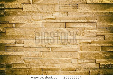 pattern of decorative stone wall background and texture
