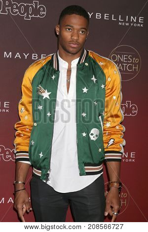 LOS ANGELES - OCT 4:  Christopher Meyer at the People's Ones To Watch Party at the NeueHouse Hollywood on October 4, 2017 in Los Angeles, CA